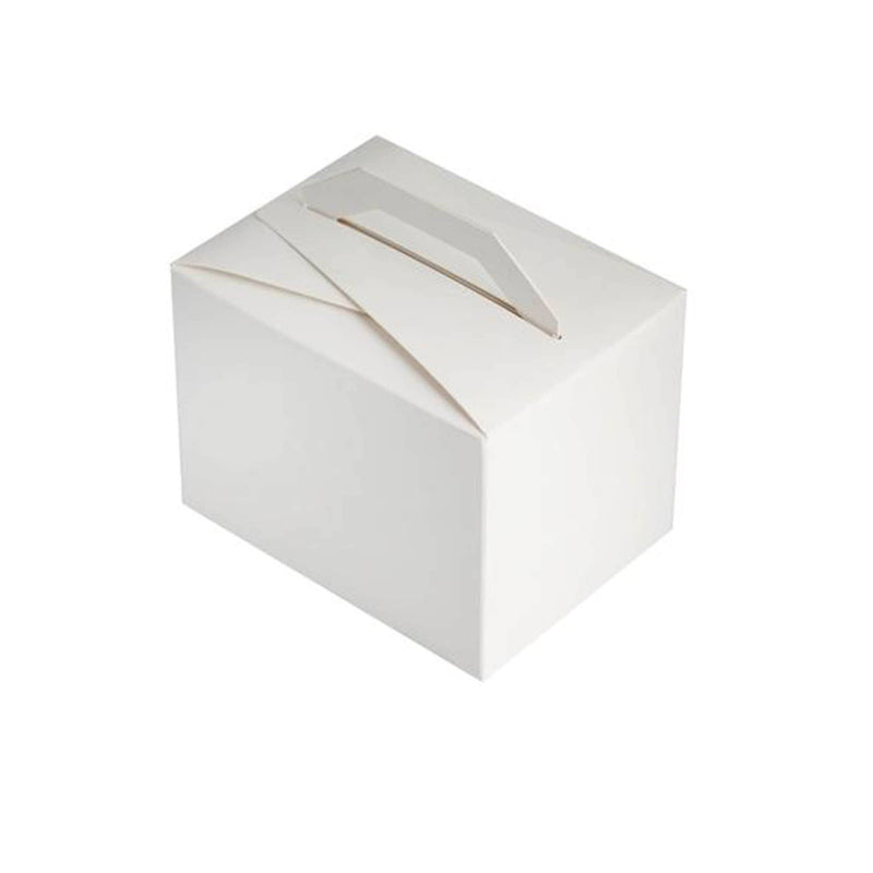 White Mini Gable Box | 10Pk