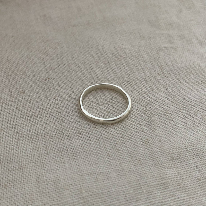 The Toroidal Ring - Sterling Silver