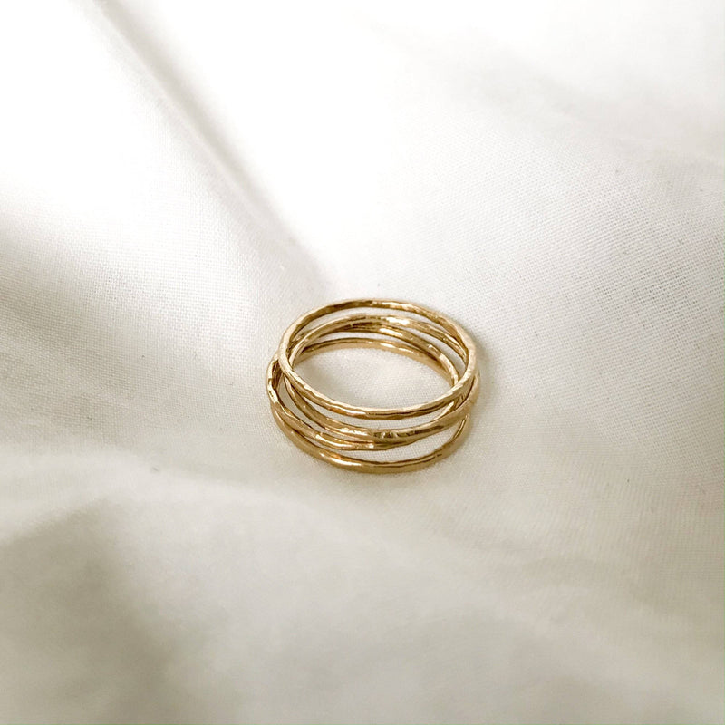 The Staple Ring - Gold