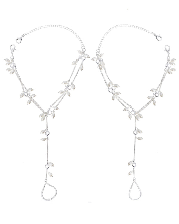 JOURNEY BAREFOOT SANDALS - SILVER