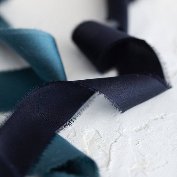 Chanel Noir Silk Satin Ribbon |3m