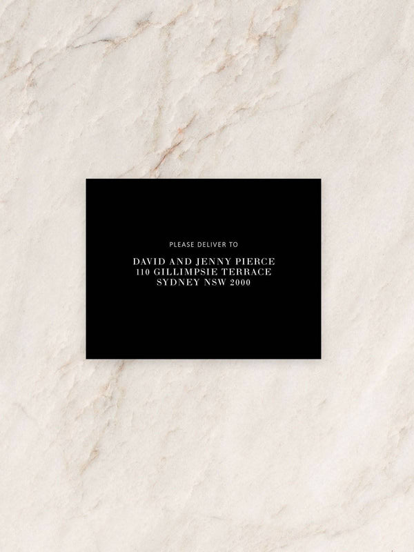 Vogue Save The Date/RSVP/Thank You Card Envelope