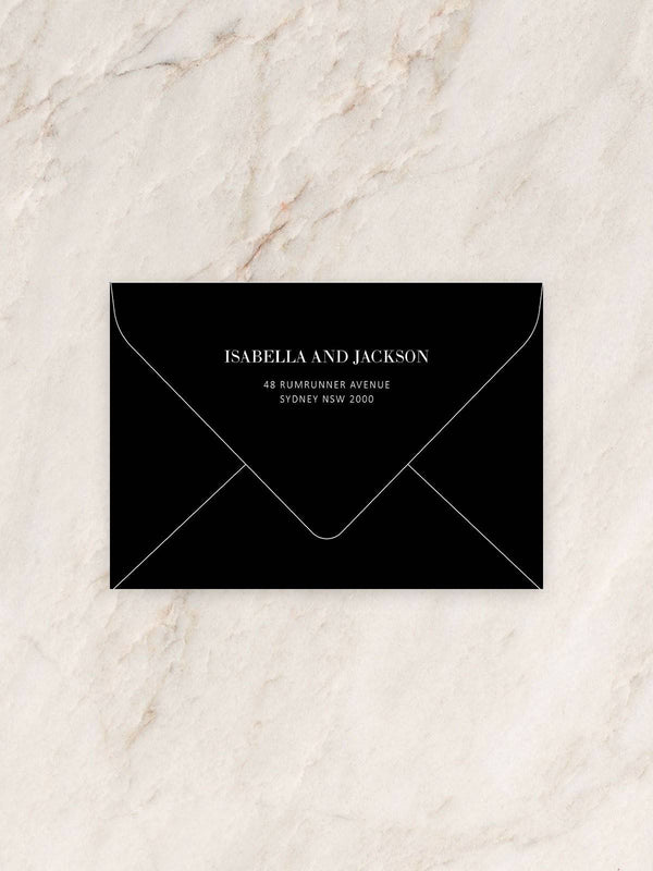 Vogue Invitation Envelope