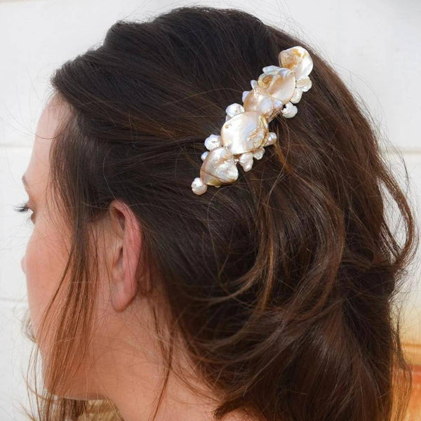 SHELL - BRIDAL HAIR ACCESSORIES