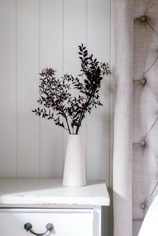 Dried Blooms - Preserved Ruscus Chocolate Burgundy