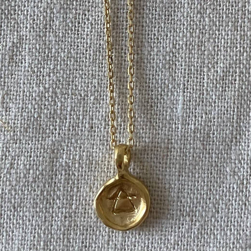The Element Of Air Pendant - Gold