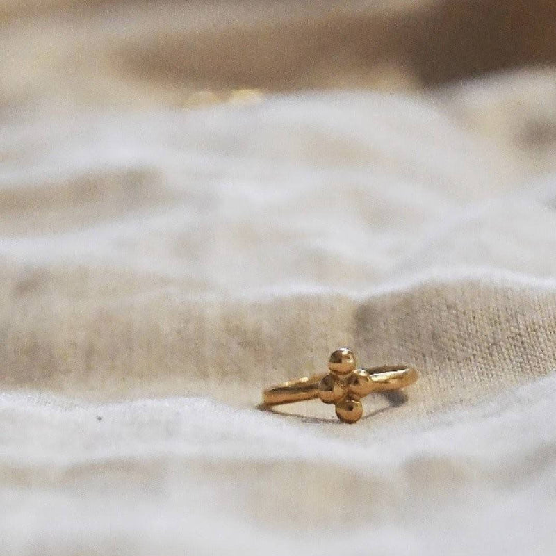 The Clover Ring - Gold