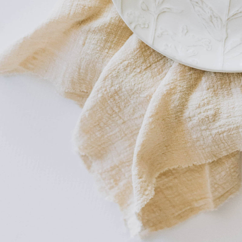 Sandy Organic Cotton Napkins | 4