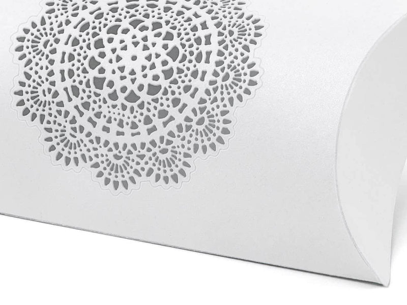 Lace medallion Pillow Box