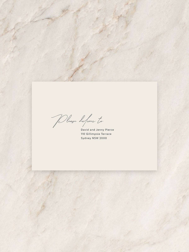 Baci Invitation Envelope