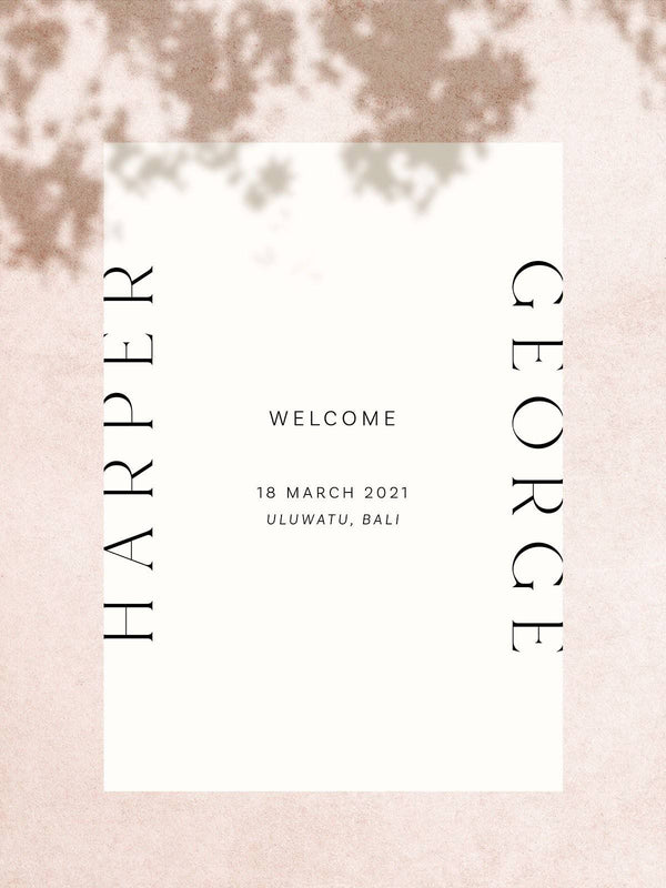 Harper Welcome Sign