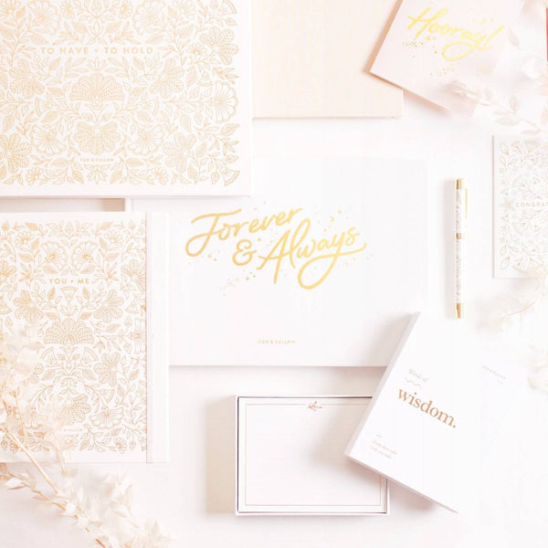Forever & Always Guest Book | Fox&Fallow