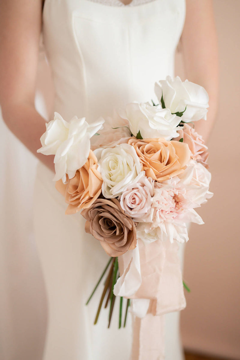 Custom Bridesmaid Artificial Bouquet
