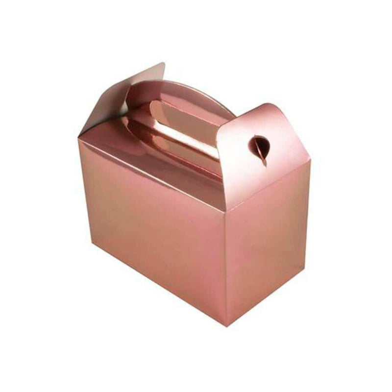 Lrg Rose Gold Gable Box | 6Pk