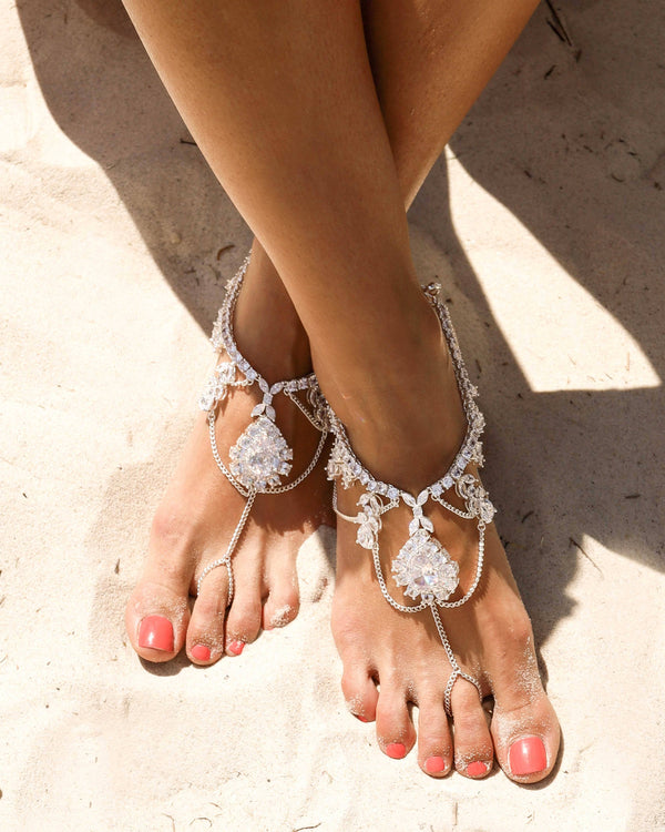 IMAGINE BAREFOOT SANDALS - SILVER