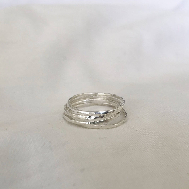 The Staple Ring - Sterling Silver