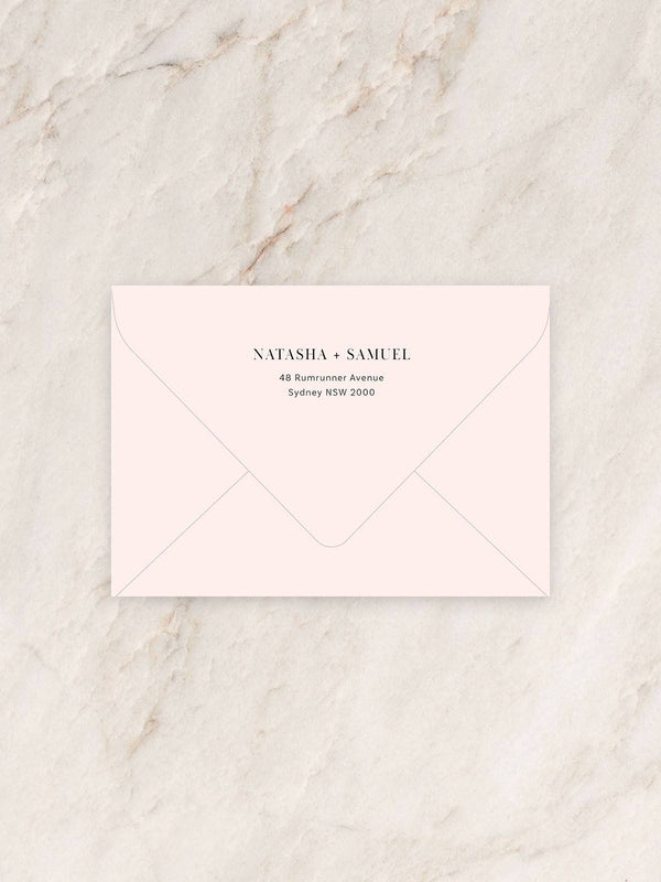Magnolia Invitation Envelope