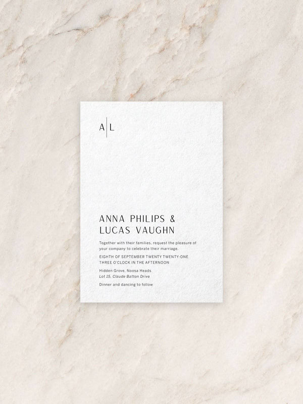 Avoca Invitation