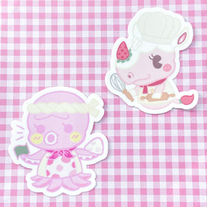 ANIMAL CHEF STICKER SET