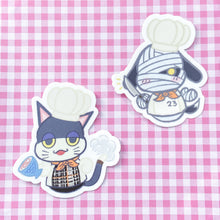 Load image into Gallery viewer, ANIMAL CHEF STICKER SET