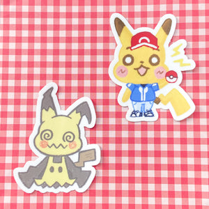 PKMN STICKER SET