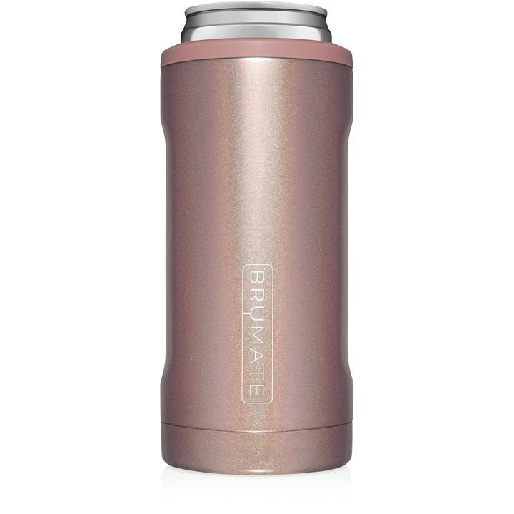 Brumate: Hopsulator Slim Glitter Rose Gold