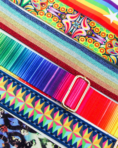 Colorful Bag Straps