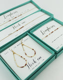 Dot & Dash: University of Texas Morse Code Jewelry