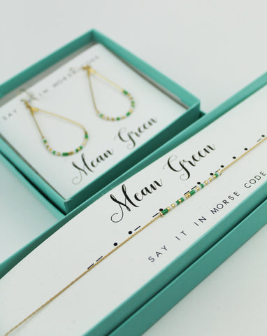 Dot & Dash: University of North Texas Morse Code Jewelry