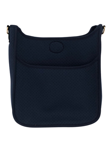 Perforated Neoprene Messenger Bag (strap NOT included) NAVY