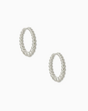 Kendra Scott: Josie Huggies In Silver