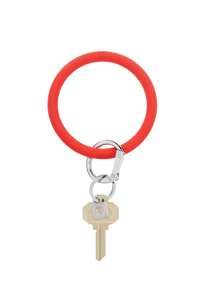 Oventure: Big O Silicone Key Ring Cherry on Top