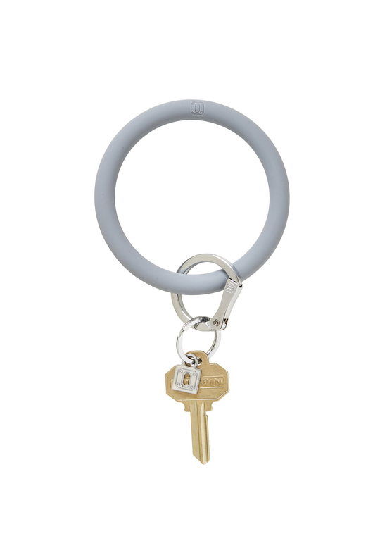 Oventure: Big O Silicone Key Ring London Fog