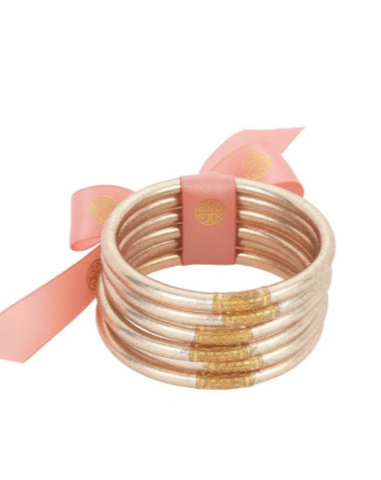 BuDhaGirl: Champagne All Weather Bangles