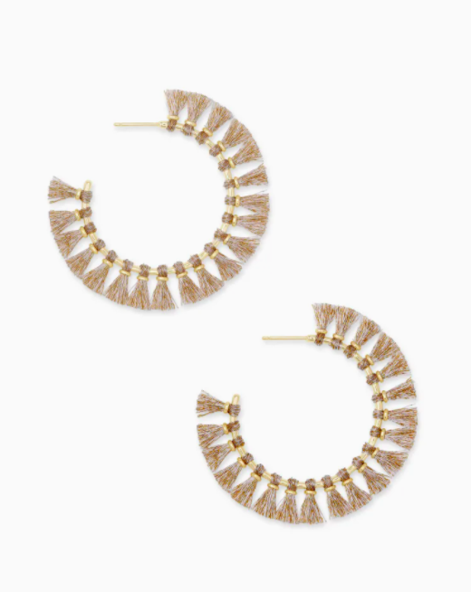 Kendra Scott: Evie Hoop Earring Gold