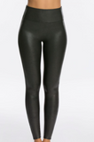 Spanx: Faux Leather Leggings