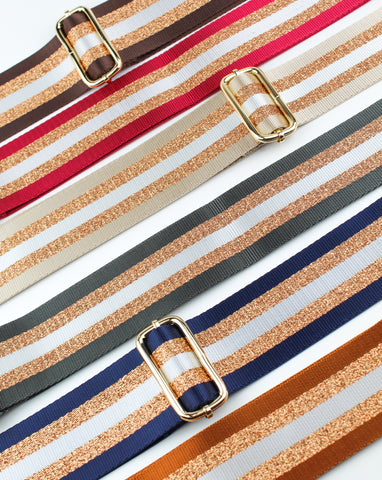 Striped Bag Straps