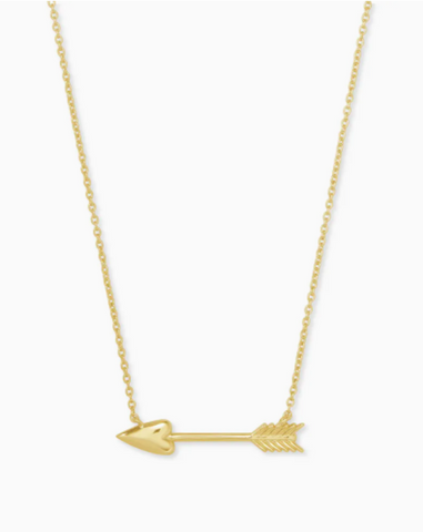 Kendra Scott: Zoey Pendant Necklace in Gold
