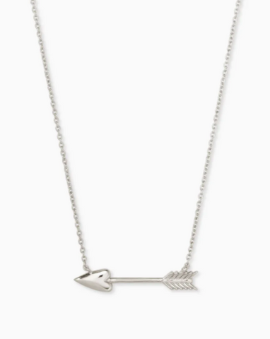 Kendra Scott: Zoey Pendant Necklace in Silver