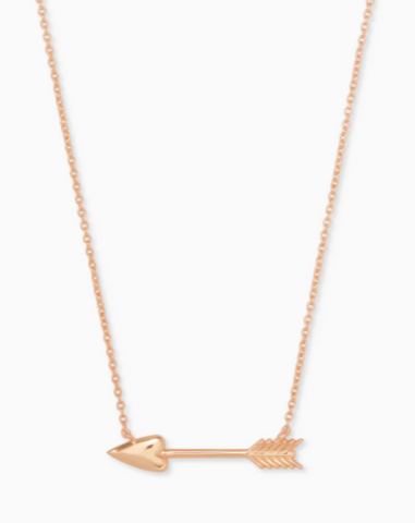 Kendra Scott: Zoey Pendant Necklace in Rose Gold