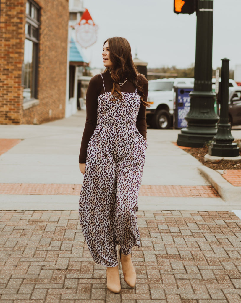 Cheetah Jumpsuit