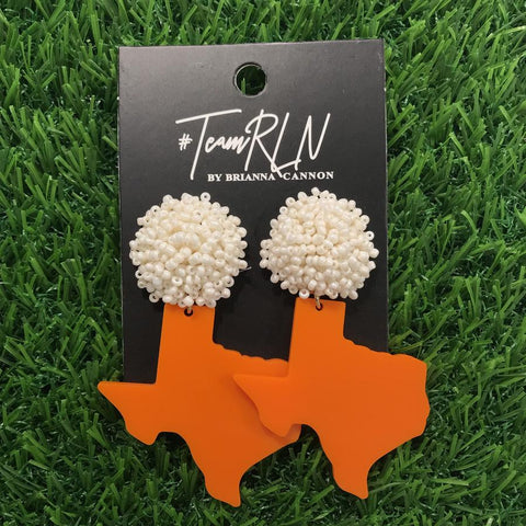 Shape of Texas Acrylic Earring
