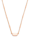 Kendra Scott: Fern Necklace Rosegold