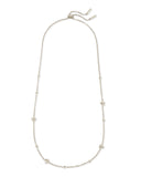 Kendra Scott: Presleigh Short Strand Necklace Bright Silver