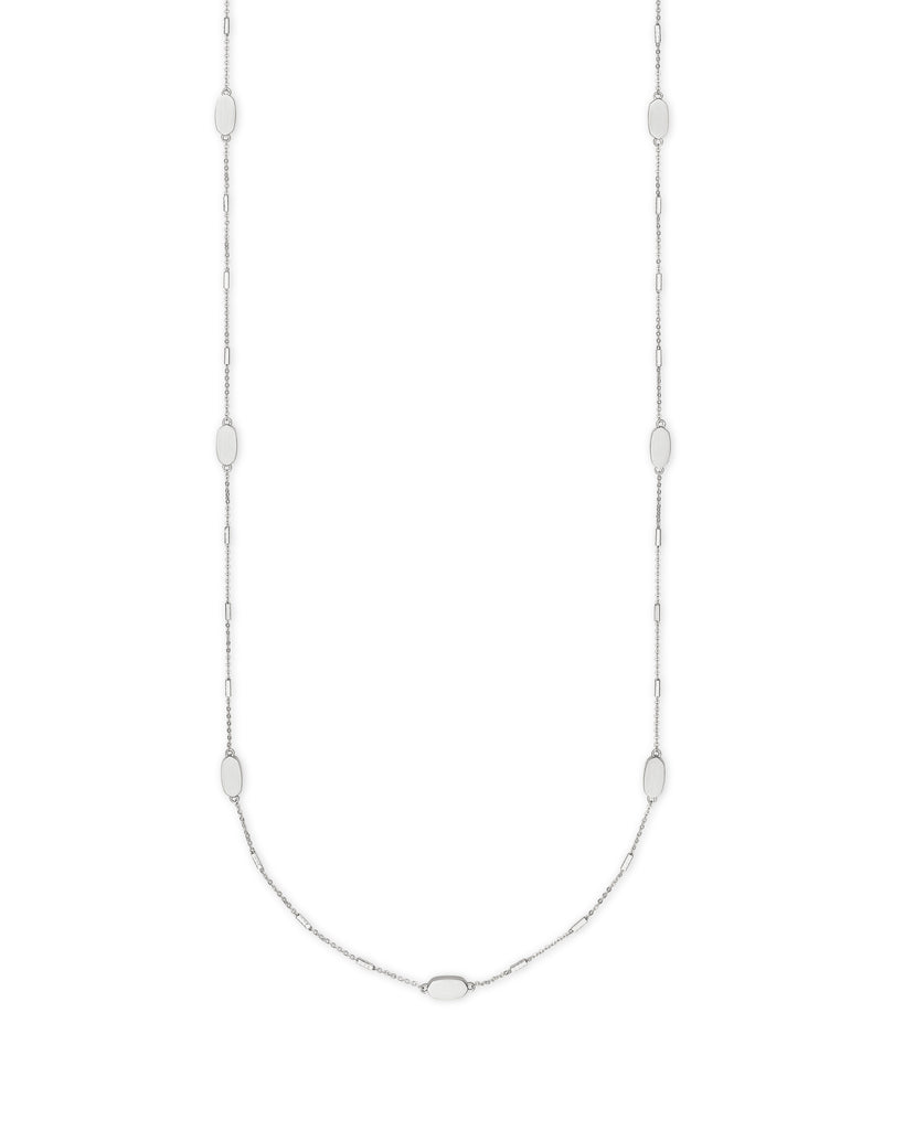 Kendra Scott: Franklin Necklace Bright Silver