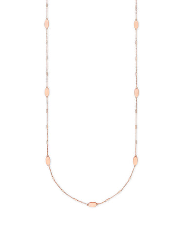 Kendra Scott: Franklin Necklace Rosegold
