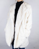 Faux Fur Cream Jacket