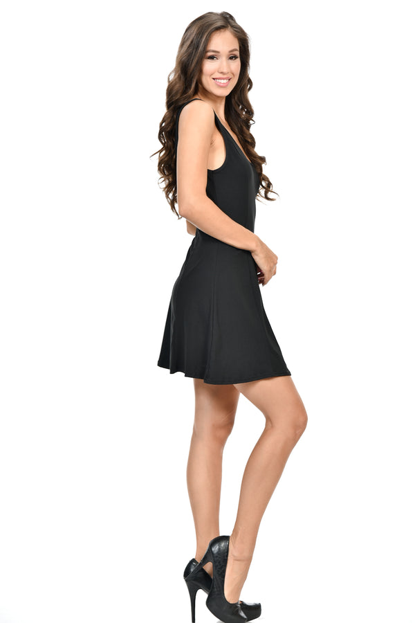 Diamante Fashion Women's Dress - Style C43B - O-ll-M