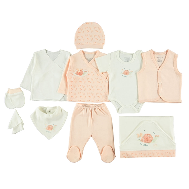 Set 11 piese Baby Boo 100% bumbac