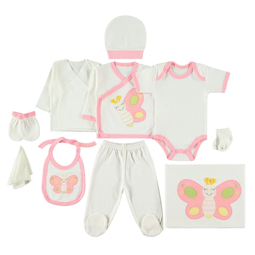 Set 12 piese Butterfly 100% bumbac
